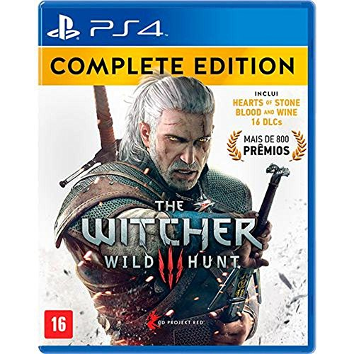 Game The Witcher III Wild Hunt: Complete Edition - PS4 - game the witcher iii wild hunt complete edition ps4 - Game The Witcher III Wild Hunt: Complete Edition – PS4