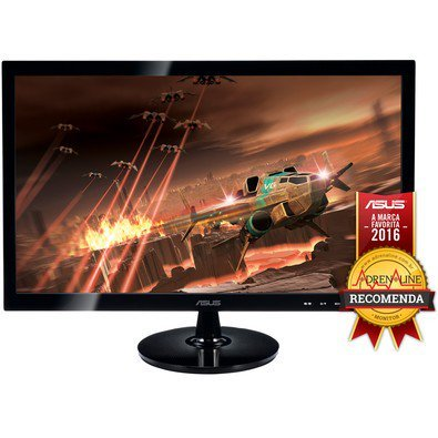 monitor gamer led asus 24, full hd, 2ms, widescreen, hdmi, smart view, alto contraste, gaming mode, d-sub, dvi-d, vs248h-p - monitor gamer led asus 24 full hd 2ms widescreen hdmi smart view alto contraste gaming mode d sub dvi d vs248h p - Monitor Gamer LED ASUS 24, Full HD, 2ms, Widescreen, HDMI, Smart View, Alto Contraste, Gaming Mode, D-Sub, DVI-D, VS248H-P
